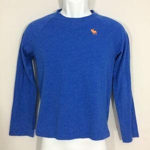 Abercrombie Kids L Royal Blue Long Sleeve T-Shirt